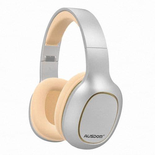Ausdom M09 Casque Filaire Et Sans Fil Bluetooth 5.0 Fente Pour Carte Micro Wh